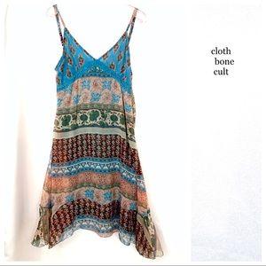 Light & Flowy Jewel-Tone Boho DRESS